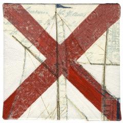 Gikoart Flaggenalphabet mit Schiffsmotiven V-Victor